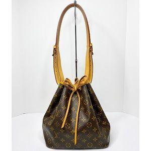 Louis Vuitton 'Petite Noe' Monogram Bucket Bag
